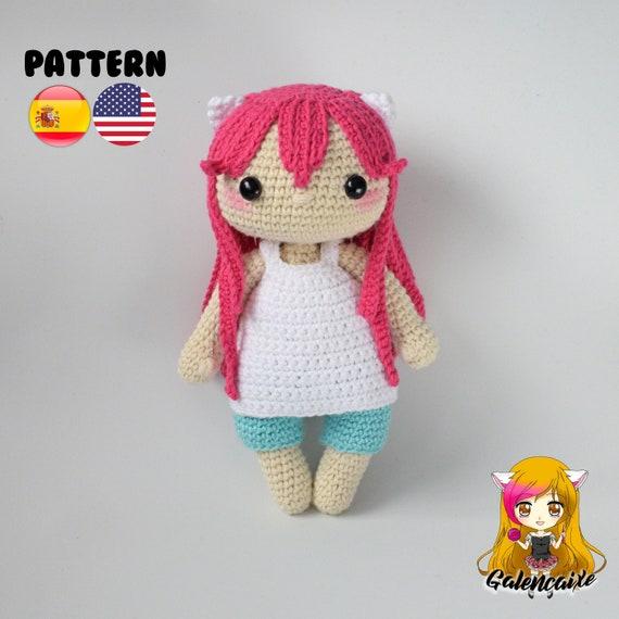 Patrón crochet Nyu Elfen Lied Amigurumi Nyu Elfen Lied PDF | Etsy