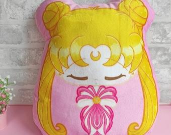 Plush Sailor Moon Anime Movie Kawaii Pillow Cushion Cute Plush Cushion Moonie, Magical Girl, Maho Shojo