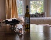 18th Century flip top oak wine table