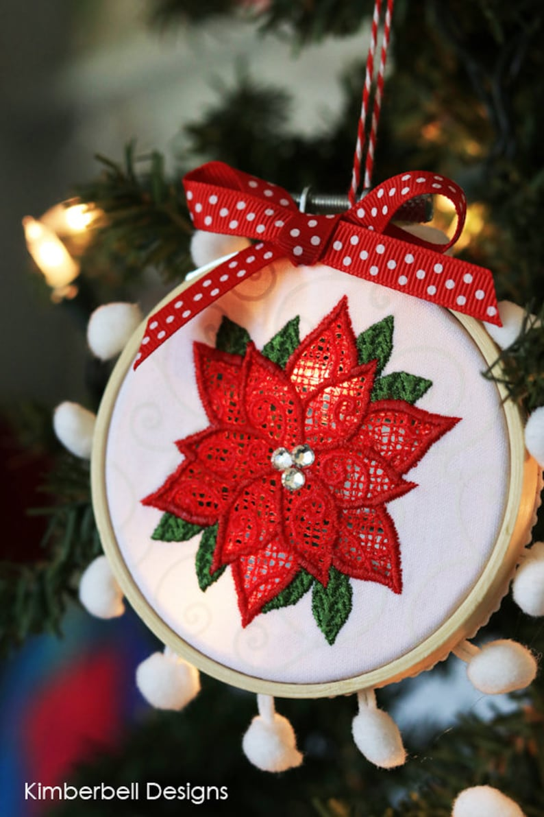 Happy Hoop Decor Vol 1 Whimsical Christmas Ornaments By Kimberbell Machine Embroidery Kd568