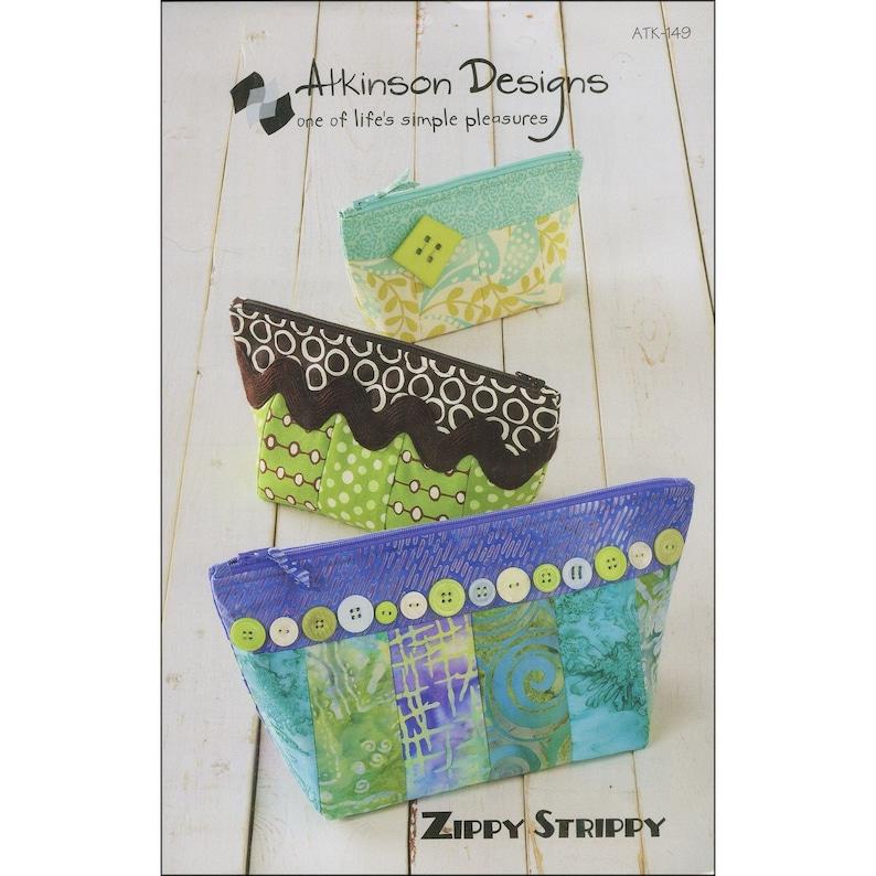 Zippy Strippy Pattern by Atkinson Designs ATK-149