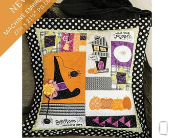 Home is Where the Haunt Is Pillow Fabric Kit  - Kimberbell Designs