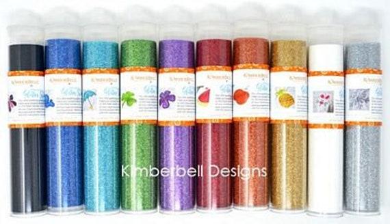 Kimberbell Applique Glitter Sheet Gold