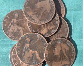 Original Victorian Penny Coin Pack