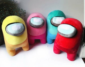20CM Red Among Us Plush Toys Soft Animal Stuffed Doll Cute Among Us Plushie Figure Toys for Children Kids