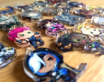 "Overwatch 1.5"" Acrylic Phone Charms"