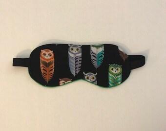 Sleepmask -- Feather Owls // Owl Feathers