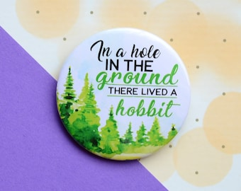 Badge The hobbit j r r tolkien