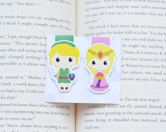 Link zelda magnetic bookmark