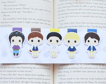 The raven boys magetic bookmarks