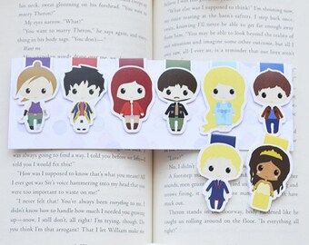 The lunar chronicles magnetic bookmark