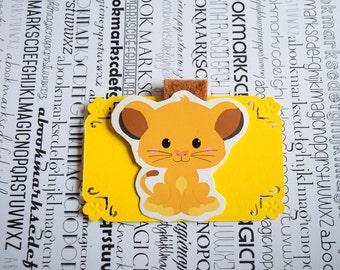 Simba magnetic bookmark Lion King