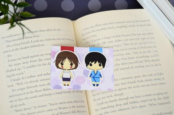 Princess Mononoke Magnetic Bookmark San Ashitaka Etsy