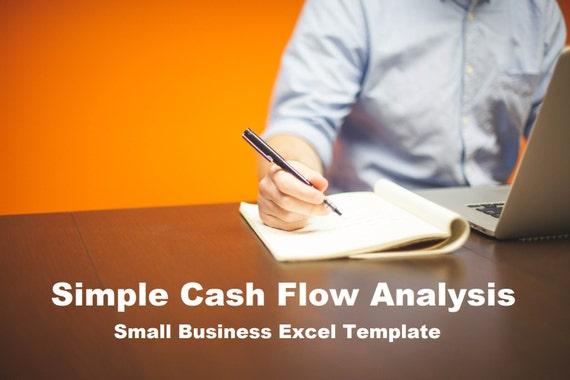 Einfachen Cashflow Analyse Vorlage Excel-Tabelle | Etsy