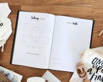 My Little Baby Book, Minimalist Baby Memory Book, Baby Journal, Pregnancy Journal, Baby Keepsake