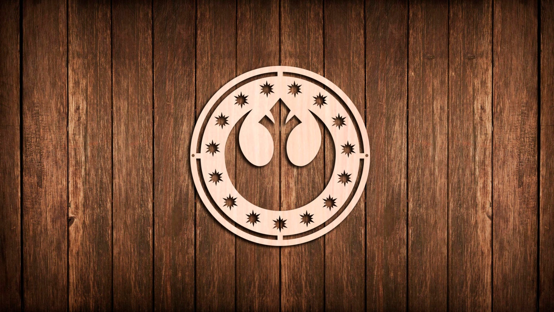Star Wars New Republic Symbol Wall Sign Logo Wooden Cutout Etsy