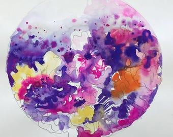 Botanical Gouache Painting