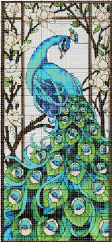 COPPIA WOLF # 8-conteggiati X-stitch chart