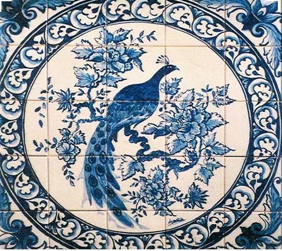 Portuguese Azulejos Tile Mural Magnificient Hand Painted Etsy