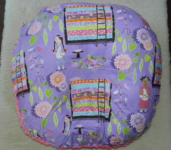 Princess And The Pea Boppy Lounge Pillow Cover With Pink