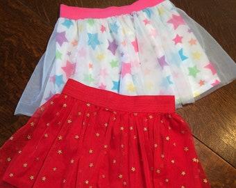 2 Superstar Toddler Skirts Size 2T
