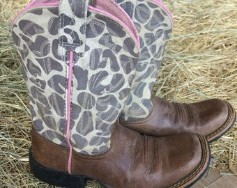 Toddler Camo Cowboy Boot by Ariat