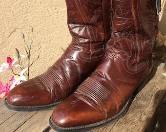 Handmade Dan Post Cowboy Boots