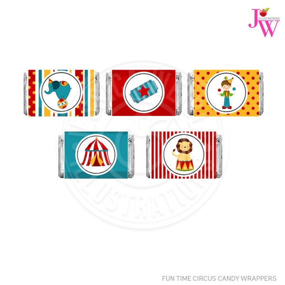 photograph relating to Printable Candy Wrappers identified as Enjoyment Period Circus Printable Sweet Bar Wrappers, Chocolate Bar Labels, Circus Bash Printables, Circus Sweet Wrappers, Circus Get together, Substantial Supreme