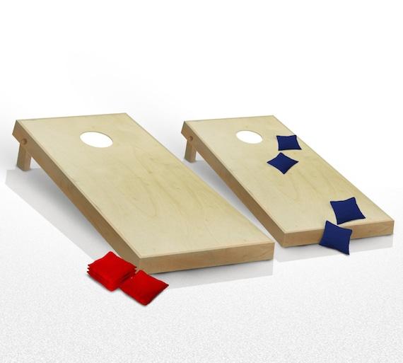 Fine Cornhole Boards Junior Game Set Bean Bag Toss 8 Bags Office Dorm Games Evergreenethics Interior Chair Design Evergreenethicsorg