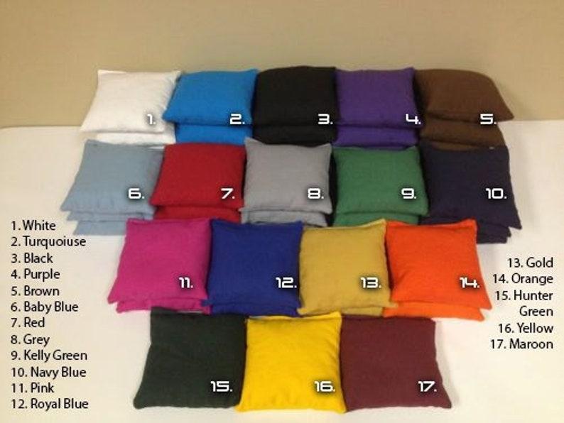 8 ACA Regulation Bags Celtic Knot Stained  Cornhole Boards Regulation Size Game Set Baggo Bean Bag Toss