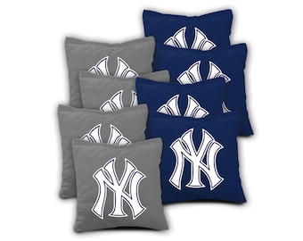 NEW YORK YANKEES Set of 8 Regulation Cornhole Bags Bean Bag Toss