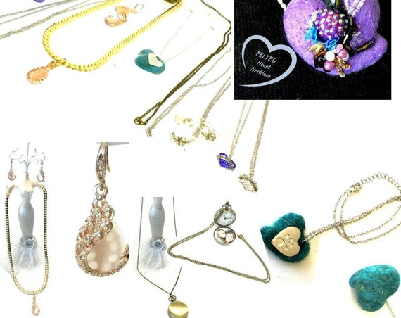 Mystery Box - Silver Pendants Lot 5 - All New Gifts -  Mystery Special  - Surprise Package - Grab Bag - Genuine BARGAIN