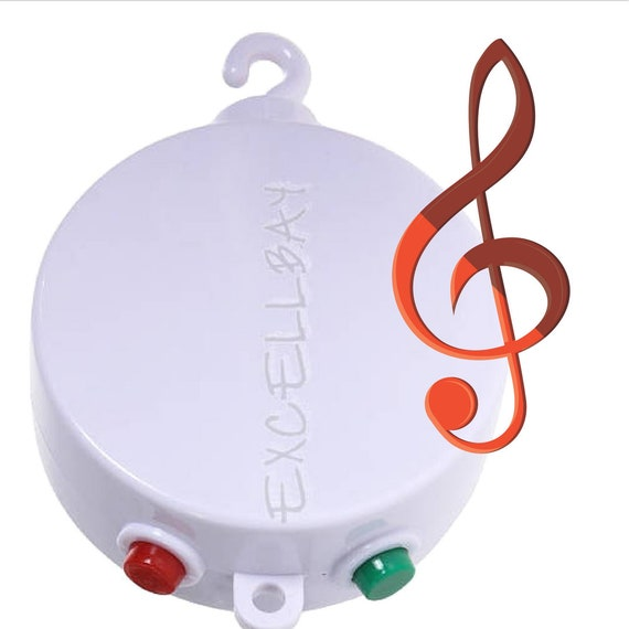 35 Tune Rotating Music Box,attaches to baby mobiles