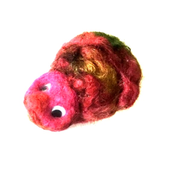 Wool Sculptured Hedgehog - Pink Needle Felted Hedgehog - Collectors Item - Original Needle Felted Sculpture - Quirky and Unique Gift