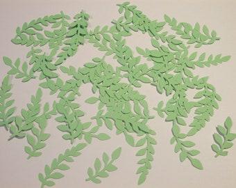 Green Leaf Die Cuts - ***FREE SHIPPING***
