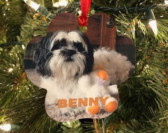 CLOSEOUT Paw Print Holiday Ornament SALE Price, BOGO and free shipping