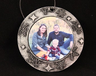 Custom 2-sided Christmas Tree Ornaments-Now with FREE SHIPPING