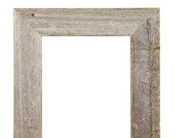 BarnwoodUSA | Rustic Open 3 Inch Wide Picture Frame |No glass, or Backing