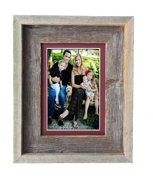 BarnwoodUSA 5x7 Inch Signature Picture Frame for 4x6 Inch | Etsy