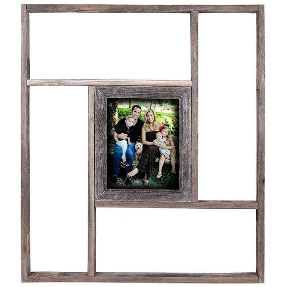 Estante de madera rústicos del Barnwood marco 8 x 10 | Etsy