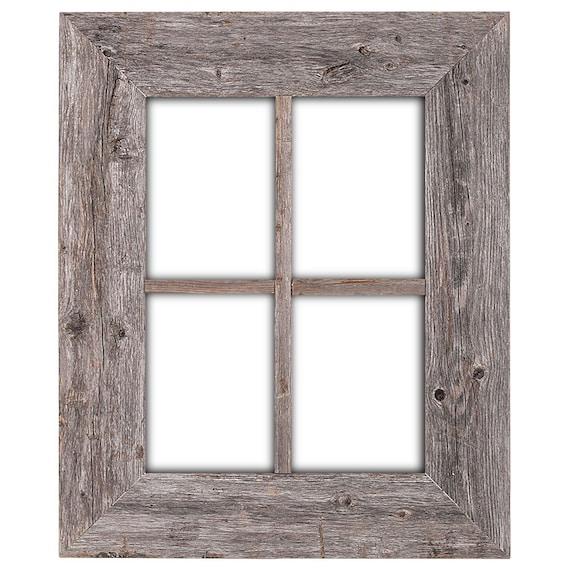 Rustic Wood Window Frame Window Frame Window Pane Frame | Etsy