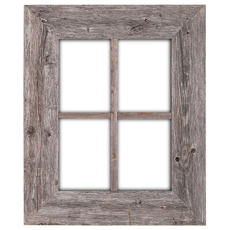 Cadre De Fenêtre En Bois Rustique Cadre De Fenêtre Fenêtre Etsy