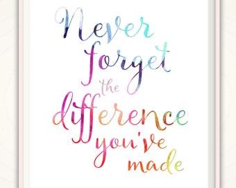Teacher Retirement Gift - Nurse Retirement Gift, Teacher Leaving Gift, Teacher Gift Ideas, Doctor Retirement Gifts, PRINTABLE Sign