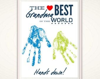 Best Grandma Gifts Gift From GrandKids Worlds