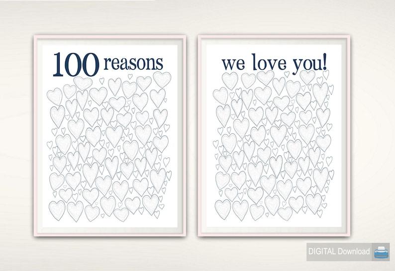 100th Birthday Gift Poster