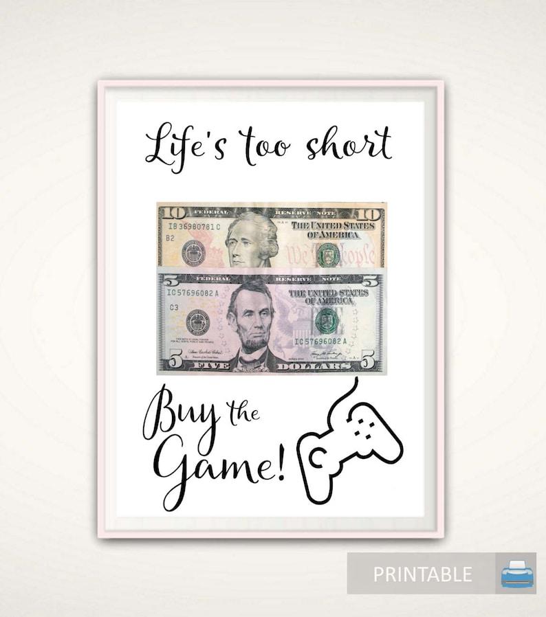 Teenage Boy Gifts Gamer Money 16th Birthday