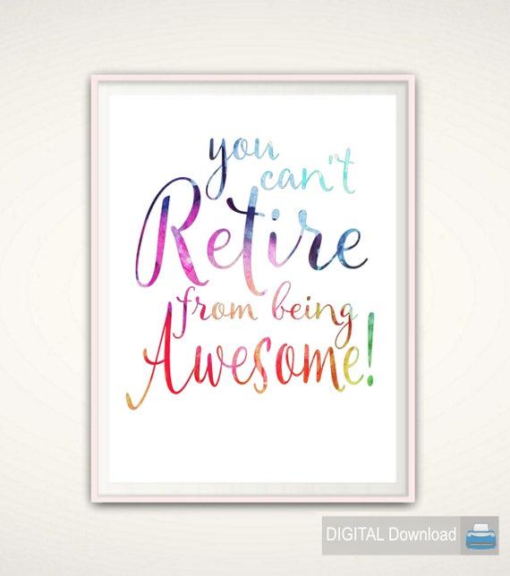 Retirement Quotes Nurse Retirement Gift Retirement Quotes PRINTABLE | Etsy Retirement Quotes
