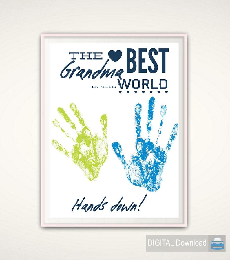 Best Grandma Gifts Grandma Gift from GrandKids Worlds Best image 0