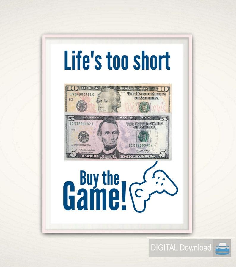 Teen Boy Gift Gamer Gifts Money 16th Birthday