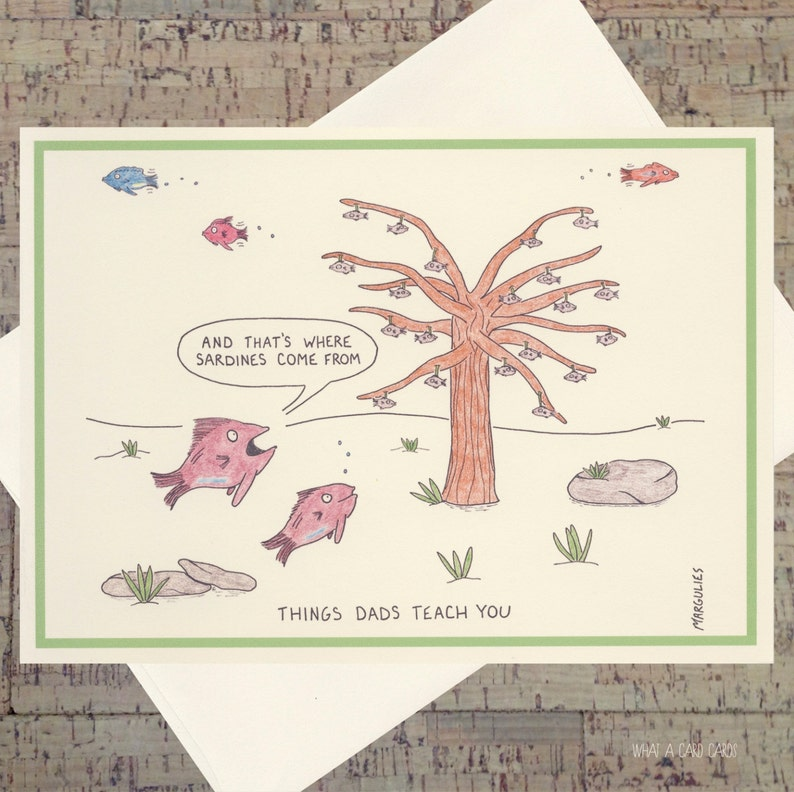 Funny Card For Dad Fathers Day Card Dad Card Funny Dad image 0